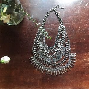 Baublebar Layer Silver Chain Necklace